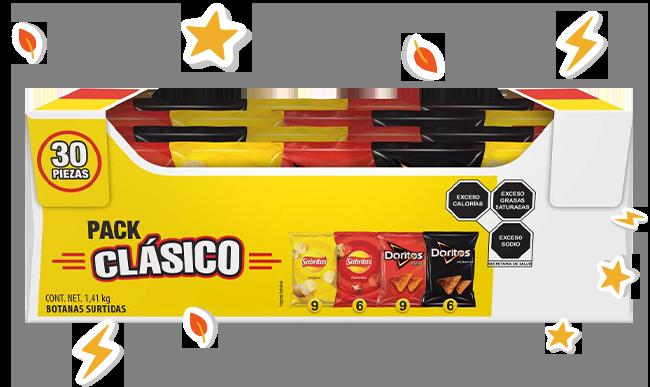Pack Clasico Sabritas