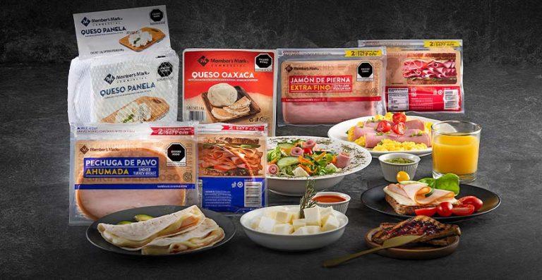 variedad de quesos y jamones Members Mar'k