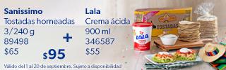 Superbanner - Lala - Crema-Acida-Lala -  Crema Lala Y Tostadas