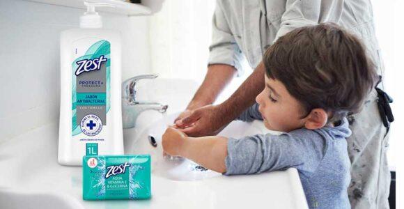 Jabón Liquido Y Barra Zest