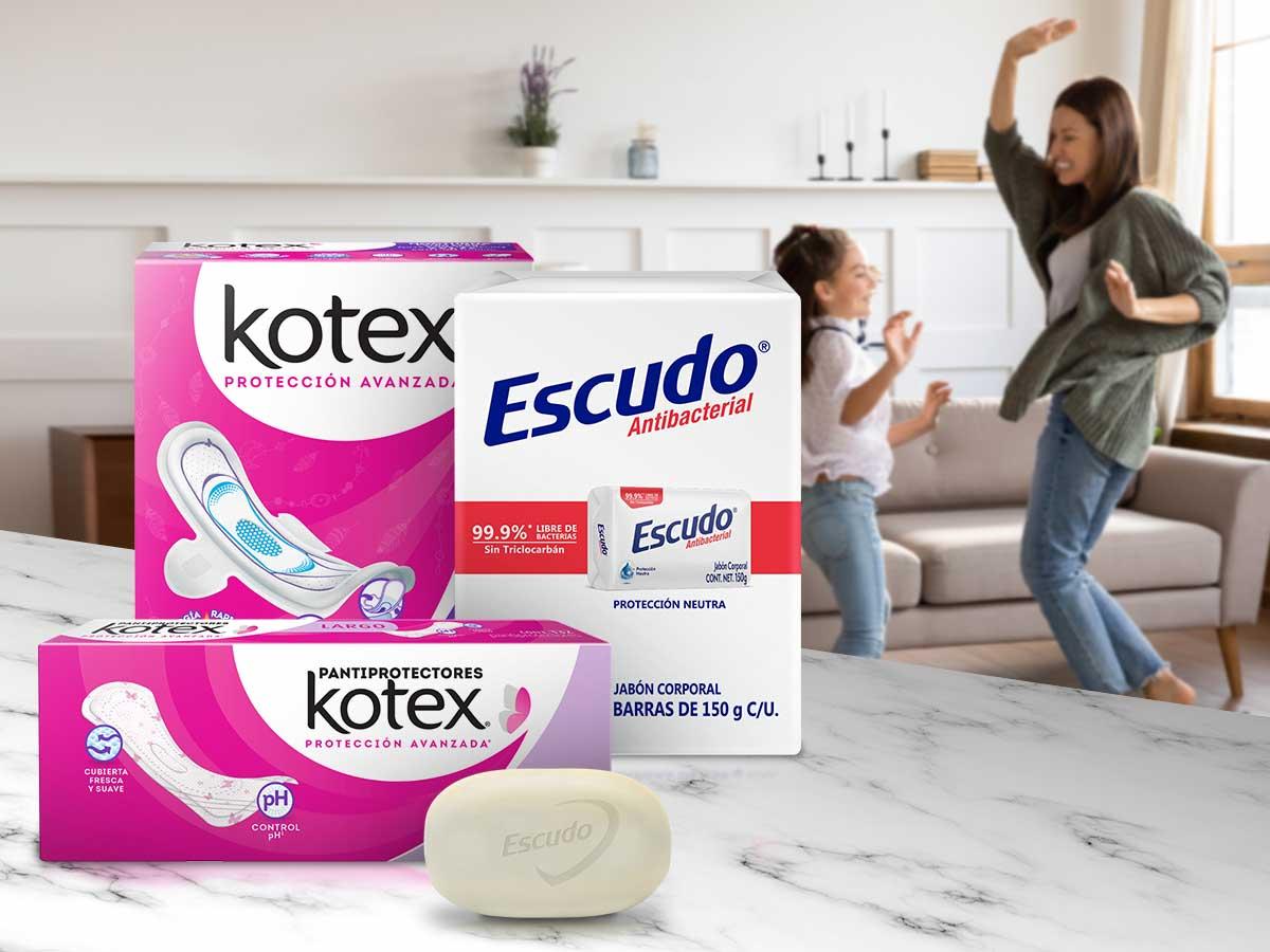 Jabón Escudo Y Toallas Femininas