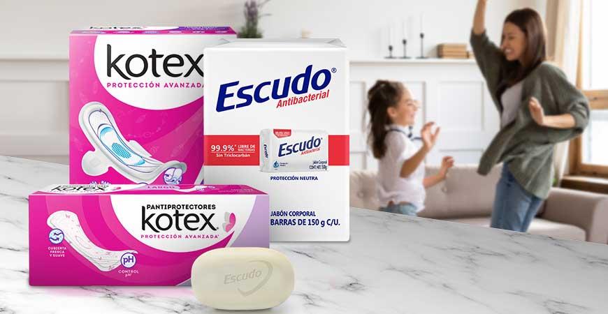 Kotex Y Escudo Antibacterial