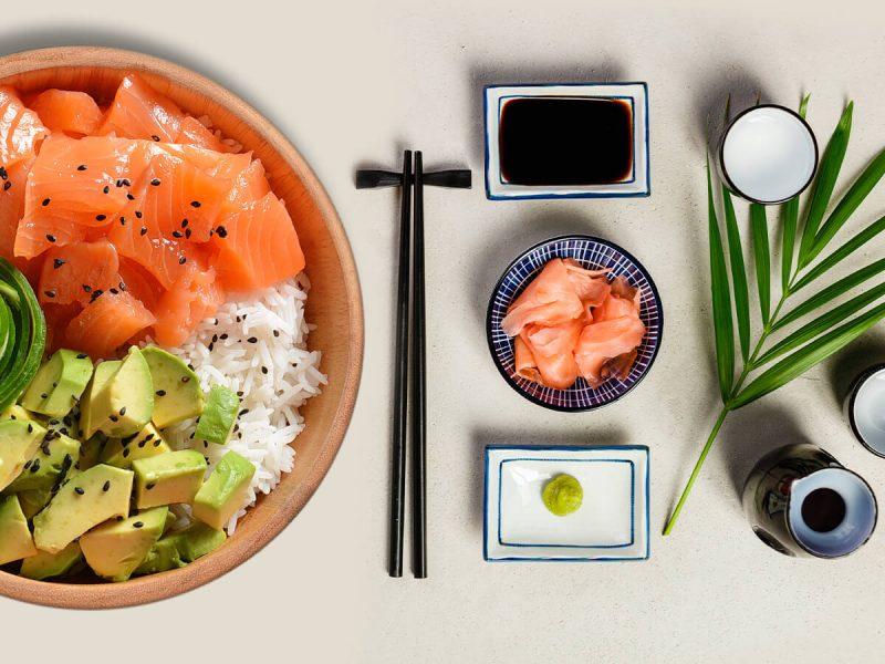 Recetas con salmon estilo oriental