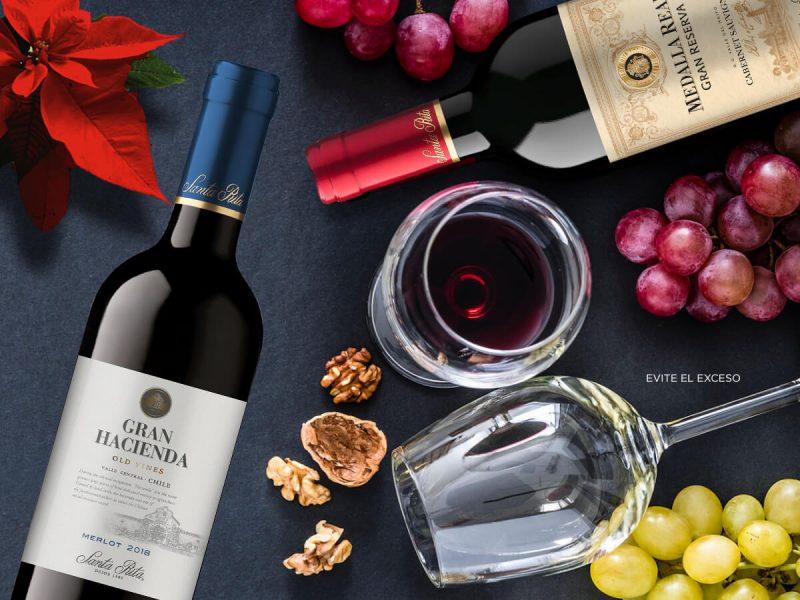 Todo el sabor de vinos Santa Rita