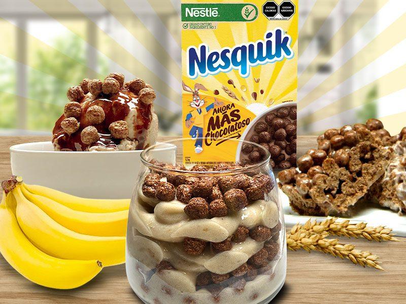 3 formas deliciosas de disfrutar cereal Nesquik